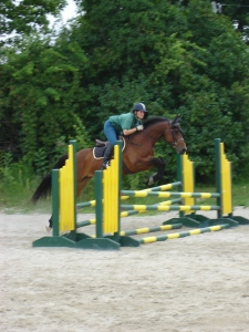 Anna schooling at UNH Event Camp, 2011