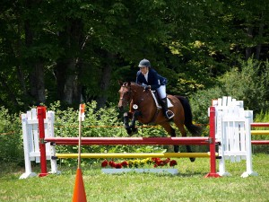 Anna's first novice at Snowfields HT, Aug 2012