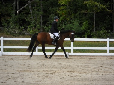 Anna at her first show, Sept 2010.