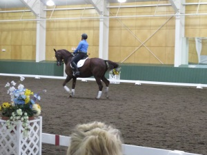 Paula Pierce's elegant and powerful Intermediate horse was able to carry off nearly any musical genre.